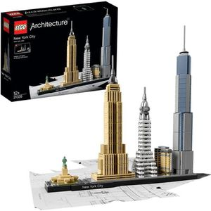 ASSEMBLAGE CONSTRUCTION LEGO® Architecture 21028 - New York