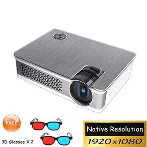 Vidéoprojecteur 1920x1080 pixel Full HD Projecteur, 1080 p home ci