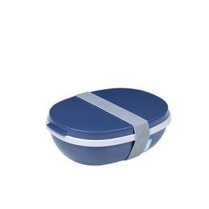 LUNCH BOX - BENTO  Mepal - Boîte à déjeuner Ellipse Duo - nordic deni