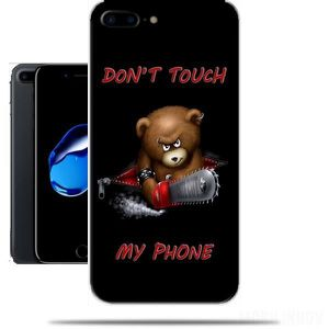 coque iphone 8 plus don t touch my phone