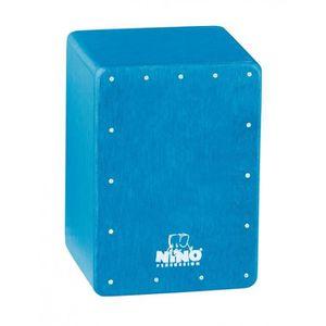 CAJON Shaker mini cajon bleu - NINO955B