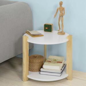 TABLE D'APPOINT SoBuy® FBT63-WN Table d'Appoint Table Café Table B