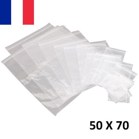 qualité pro pochettes Lot 20 Sachets ZIP 100x100 sacs plastique transparents