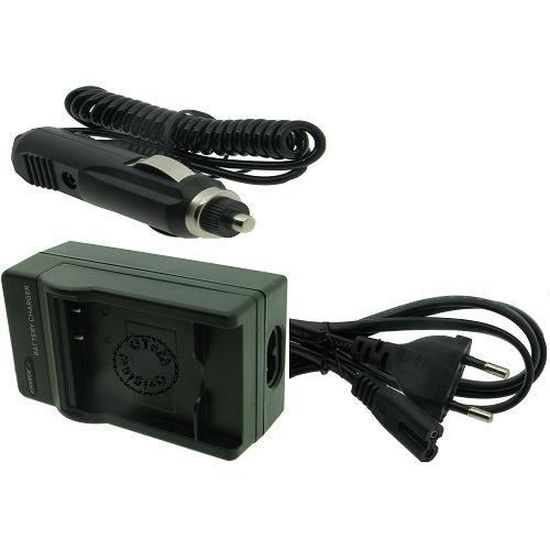 1000mAh Chargeur pour PANASONIC LUMIX DMC-FZ5 220.0V