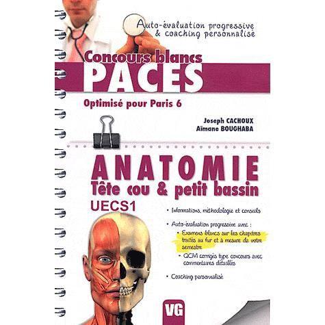 Anatomie Tête cou & petit bassin