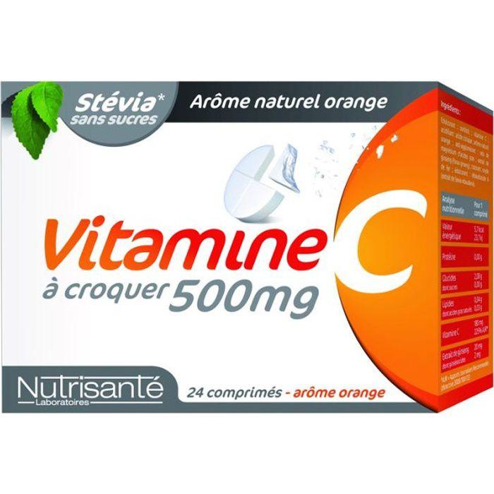 Vitamine c 500 à croquer