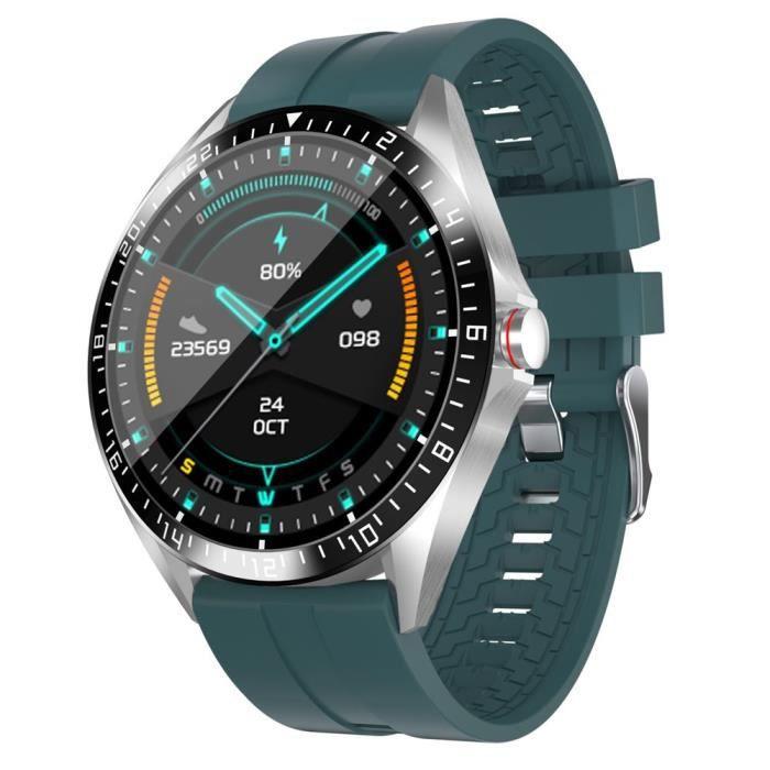 GW16T Smart Watch Femmes Hommes Température cardiaque Fréquence cardiaque Tension artérielle Oxygène Moniteur Smart - Green - WL1447