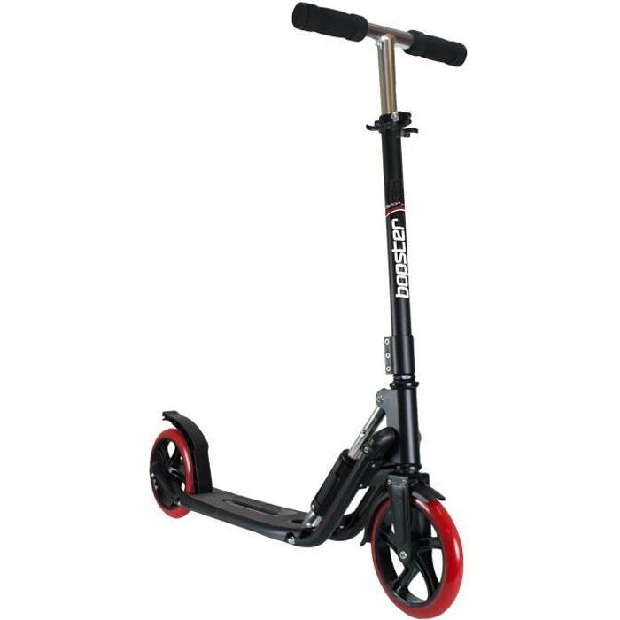 Trottinette adulte à pliage rapide bopster® Sport Pro - Noir - bopster