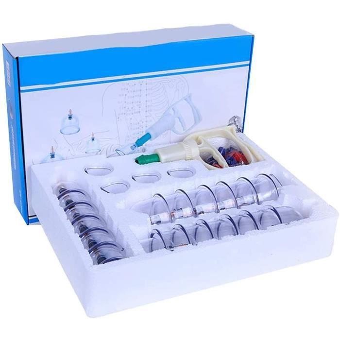 Vacuum Ventouses Thérapie - Ensemble De Ventouses Chinois, Ventouse Anticellulite, Ventouse Anti Cellulite Minceur, Cupping The A378