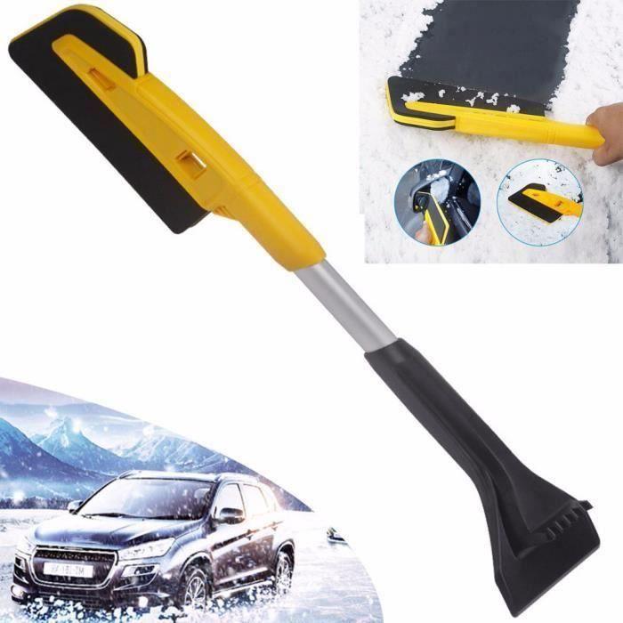 neige pelle à neige pour éliminer le grattoir de glace brosse à neige de voiture 26 pouces