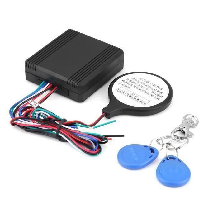Alarme Anti-vol de moto Sans fil Capteur à distance Portes d'alarme de sécurité avec Télécommande LBQ28