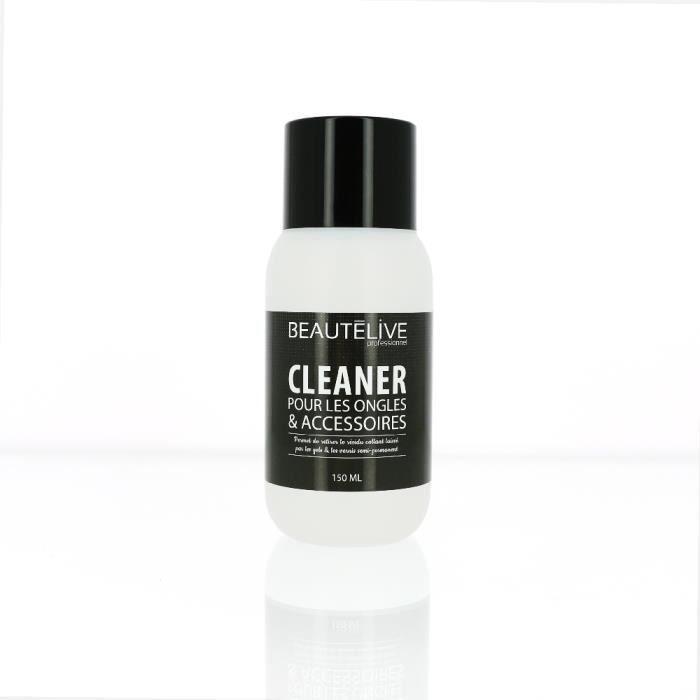 Cleaner pour ongles et accessoires 150ml, Beautélive