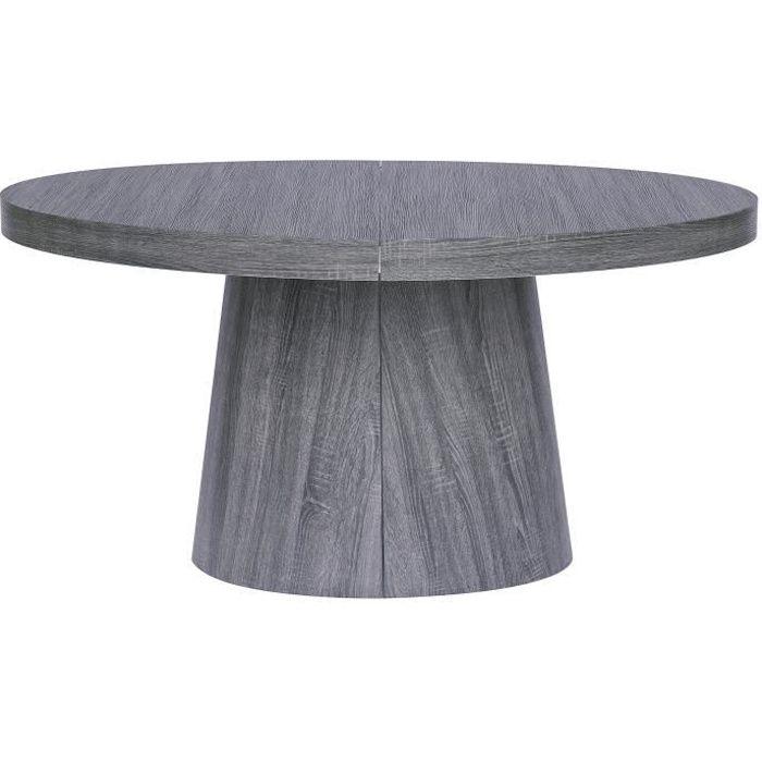 Table ronde extensible Oluze Vintage