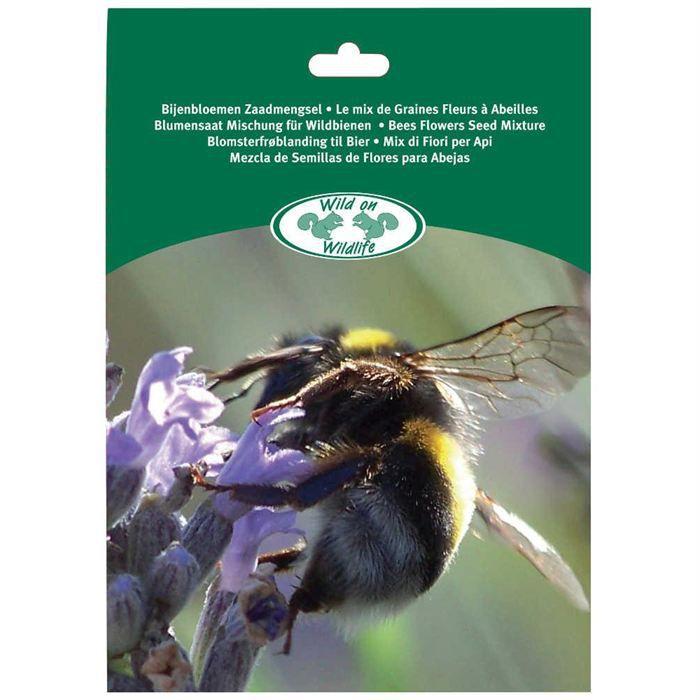 Melange de graines fleurs pour abeilles