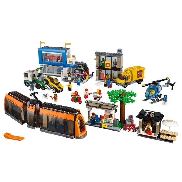 Lego Ville Ville 60097 City Square Kit de construction JWMMP