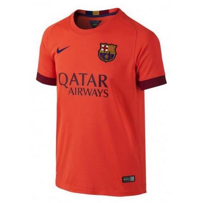 Maillot Officiel Homme Nike Fc Barcelone Extérieur Saison 2014-2015