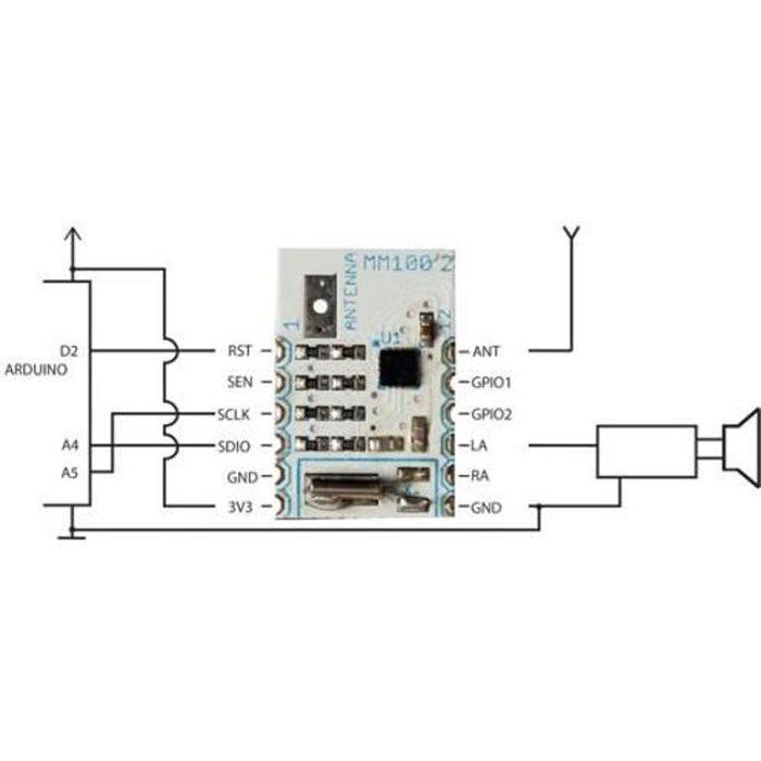 Mini module récepteur fm/fds