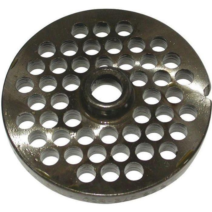 REBER Grille pour Hachoir électrique - N°22 - Diamètre 12 mm