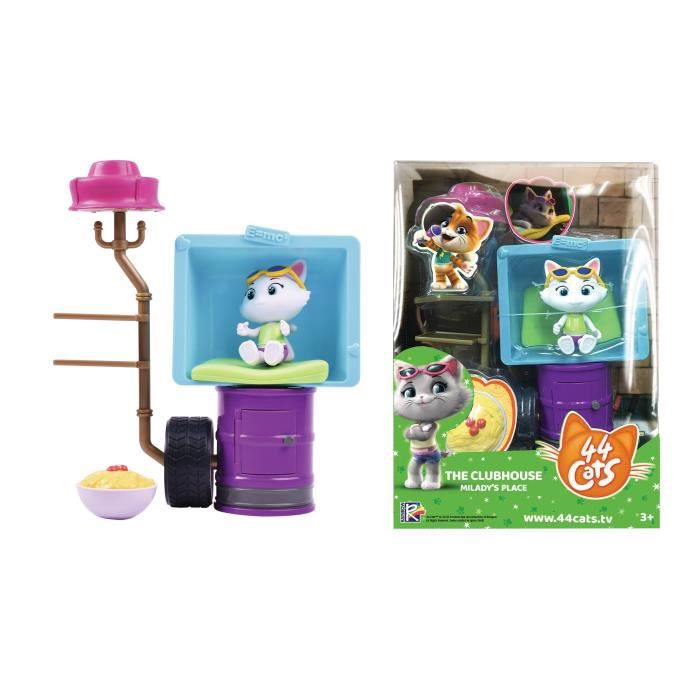 Deluxe Playset/Milady 44CATS - SMOBY