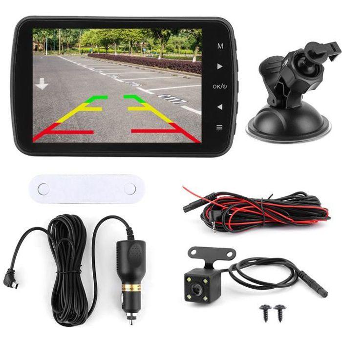 3.5in LCD 1080P enregistreur de conduite double caméra 170 ° grand Angle clair Vision nocturne voiture DVR Dashcam