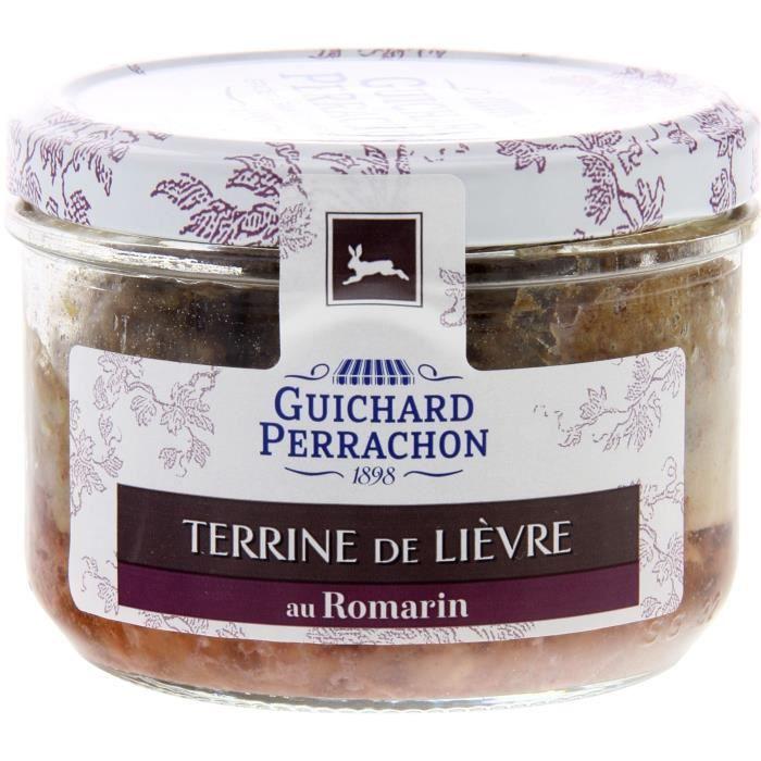 GUICHARD PERRACHON Terrine lièvre romarin - 180 g