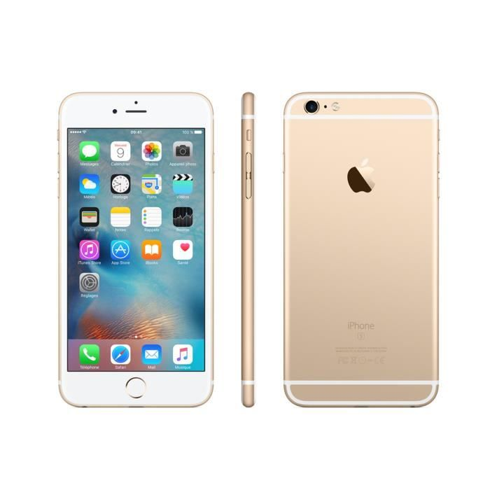 Vente flash iphone 6 plus 16 go or reconditionne a neuf achat smartphone - Vente flash telephone ...