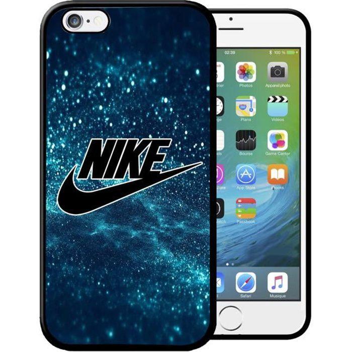 coque iphone 6 plus nike blue etui housse bumper