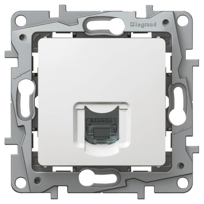 LEGRAND lot de 10 Prises RJ45  FTP blanc