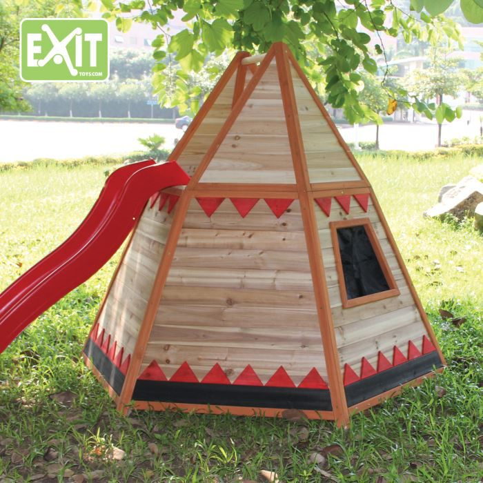 maisonnette tipi enfant achat vente maisonnette ext rieure cdiscount. Black Bedroom Furniture Sets. Home Design Ideas