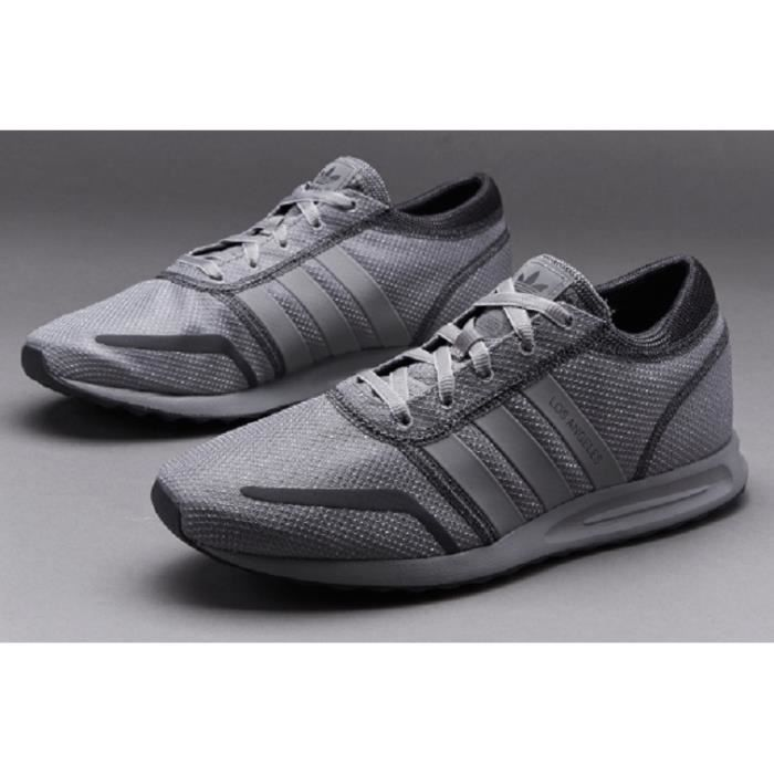 brand new 668f0 bb8ee Baskets Adidas LOS ANGELES Homme, Modèle AF4239 GRIS