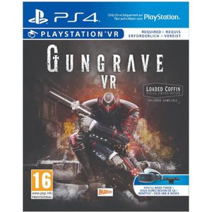 JEU PS VR Gungrave VR The Loaded Coffin Edition Jeu PS4