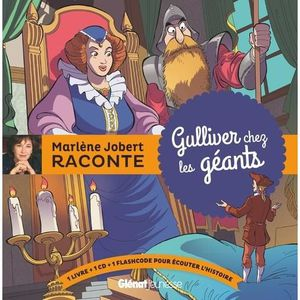 Livre 3-6 ANS Gulliver chez les géants. Avec 1 CD audio
