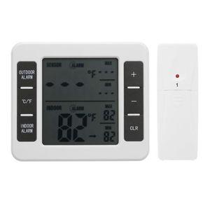 THERMOMÈTRE - BAROMÈTRE Thermomètre de réfrigérateur avec alarme sonore nu