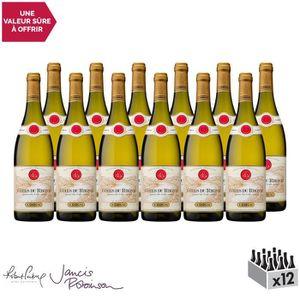 VIN BLANC Côtes du Rhône Blanc 2017 - Lot de 12x75cl - Maiso
