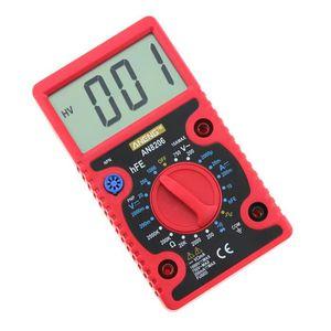 MULTIMÈTRE AUTO AN8206 multimètre numérique écrans grand Amps Tens