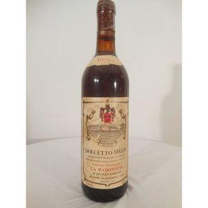 VIN ROUGE la madonnina rouge 1982 - dolcetto d'alba Italie