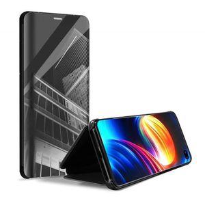 coque pour iphone x miroir transparent etui a rab