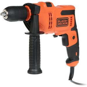 PERCEUSE BLACK & DECKER Perceuse à percussion -  500 Watts