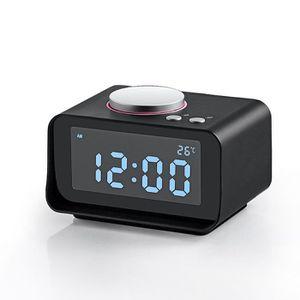 Radio réveil Loskii DC-14 LCD Radio réveil LCD Dual USB AUX FM