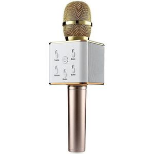 MICRO - KARAOKÉ Boblov TUXUN Q7 Microphone Portable KTV Wireless H