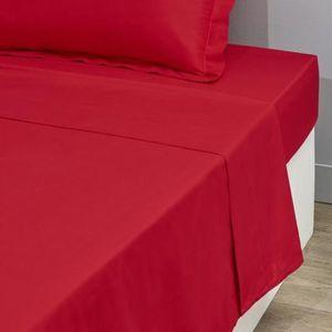 DRAP PLAT Drap Plat 1 Place 180 x 290 cm Uni - 100 % Pur Cot