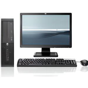 ORDI BUREAU RECONDITIONNÉ PC HP 6000 PRO + ECRAN 19 POUCES  >>TOP VENTE ! <<