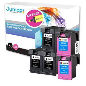 CARTOUCHE IMPRIMANTE Lot de 5 cartouche compatible pour HP Officejet 26