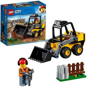ASSEMBLAGE CONSTRUCTION LEGO® City 60219 La chargeuse