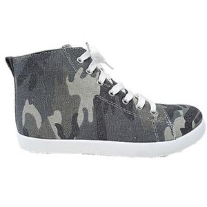BASKET Baskets montante camouflage femme militaire army t