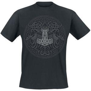 T-SHIRT Viking celtique bouclier Viking celtique bouclier