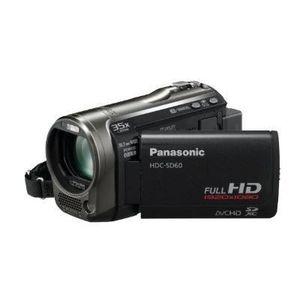 CAMÉSCOPE NUMÉRIQUE Caméscope Full HD HDC-SD60 - gris foncé