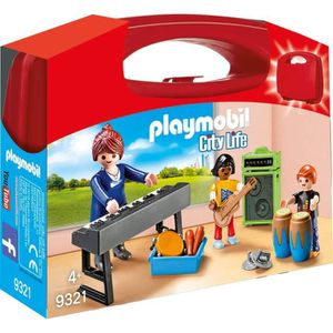 UNIVERS MINIATURE PLAYMOBIL 9321 - City Life - Valisette Cours de Mu