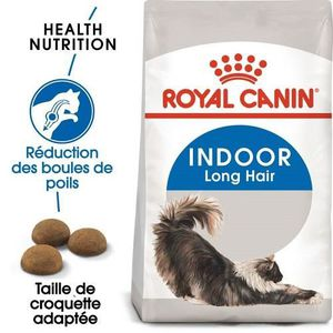 CROQUETTES Royal Canin Indoor Long Hair for Cat 4 kg