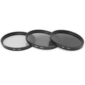 FILTRE PHOTO 3pcs 58mm Densité Neutre ND2 ND4 ND8 ND 2 4 8 Filt